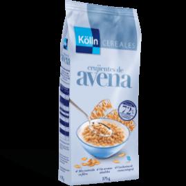 Los crujientes de avena son la prueba de la inmensa versatilidad de la avena: como desayuno, como tentempié, solos, con leche, etc.
