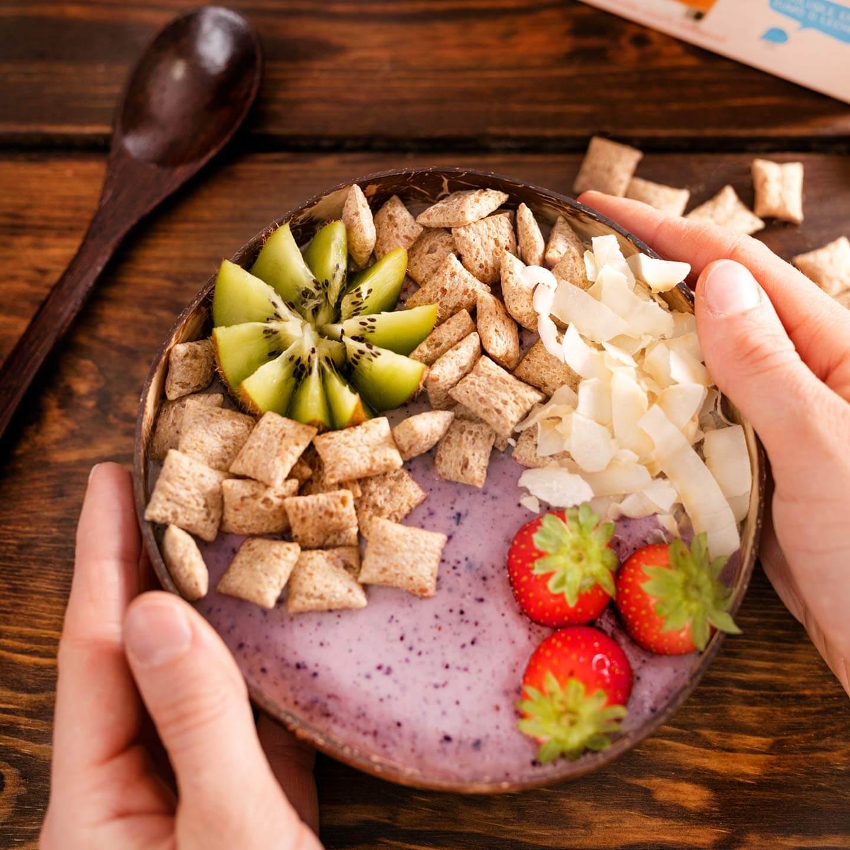 Açai Bowl de Avena con Frutas