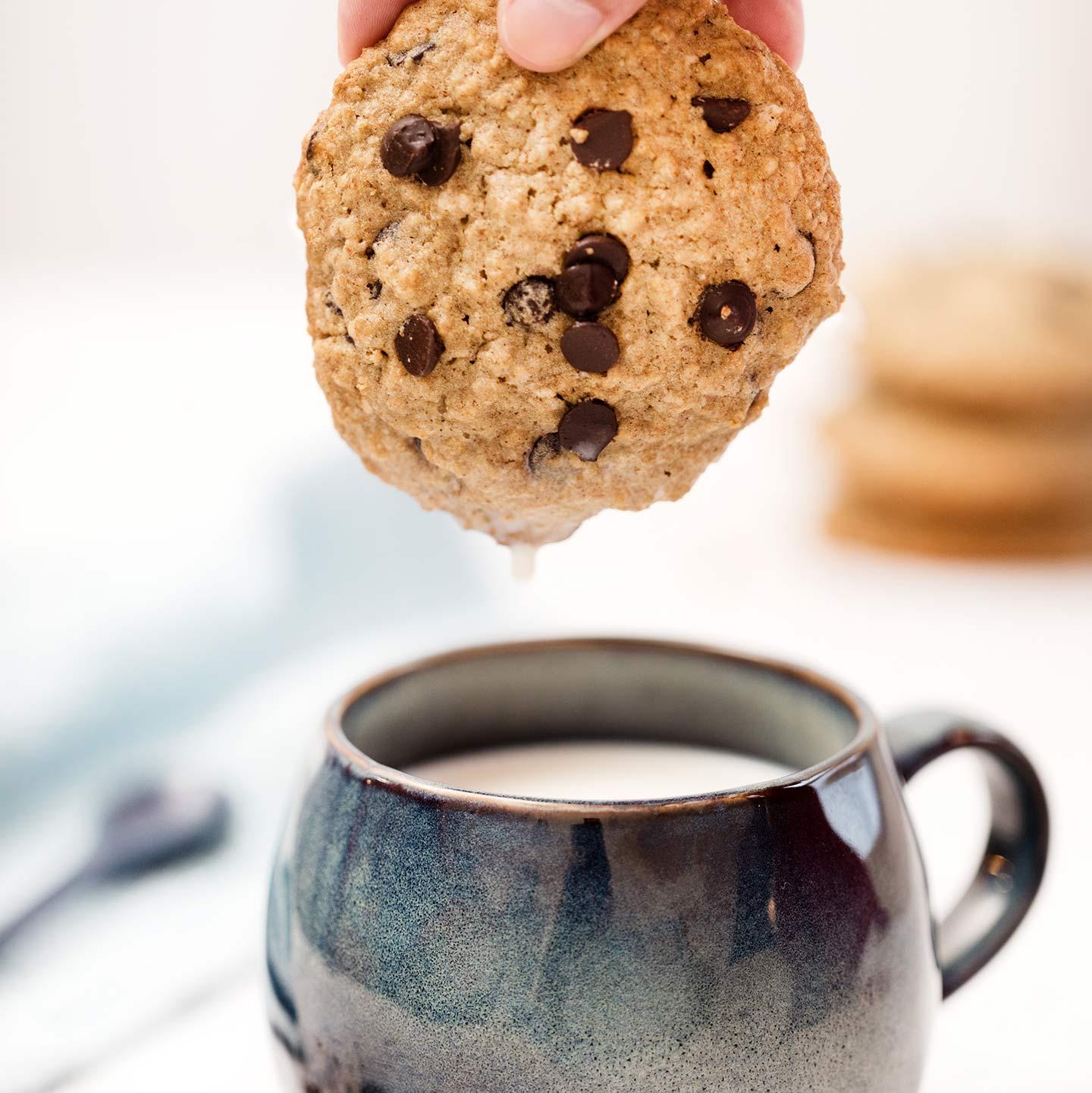 Cookies de Avena y Pepitas de Chocolate