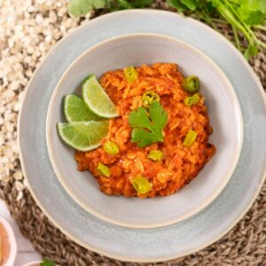 Curry de Avena y Lentejas