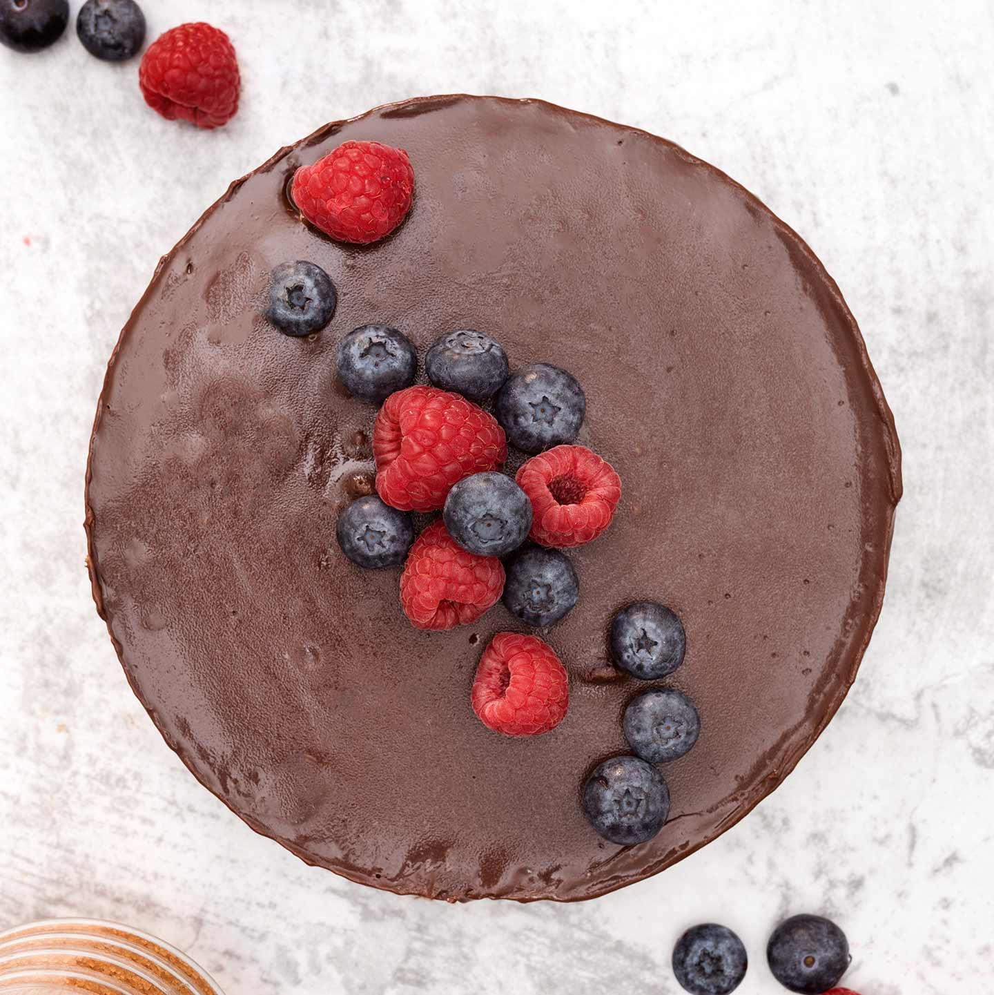 Tarta de Chocolate y Muesli