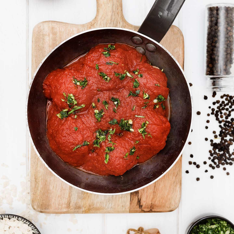 Albóndigas con Avena y Salsa de Tomate