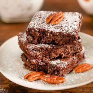 Brownies con Copos de Avena Suaves Sin Gluten